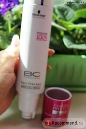 Шампунь Bonacure Color Save Silver Shampoo / защита цвета придающий серебристый оттенок фото