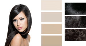 Палитра подходящих оттенков для контрастной внешности