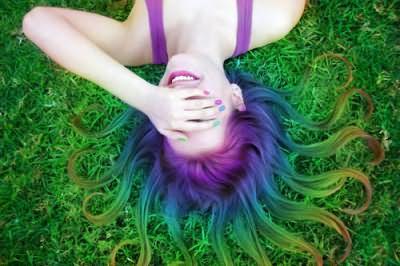 Изменить стиль с помощью цвета волос? Нет ничего проще