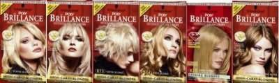 Палитра красок для волос Бриллианс - Brillance