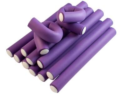 Папильотки – один из самых удобных и практичных типов бигуди