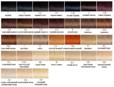 Небольшая инструкция по выбору подходящего оттенка в линейке Garnier Color naturals