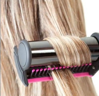 Утюжок для волос для объема: простое решение.