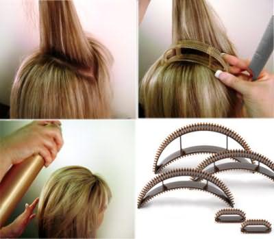 Заколки для объема волос помогут быстро создать пышную прическу