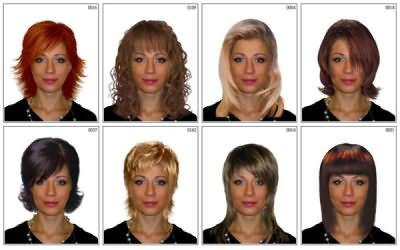 Перед тем, как отправиться за покупкой парика, «примерьте» различные варианты причесок, например, в онлайн программах и получите готовое фото
