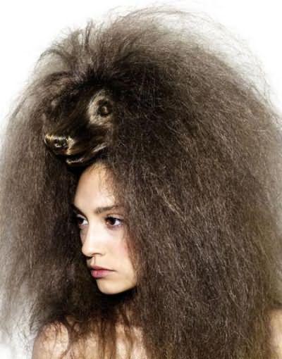 что делать волосы пушатся
