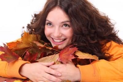 Девушка-осень выглядит особенно шикарно с рыжим окрасом