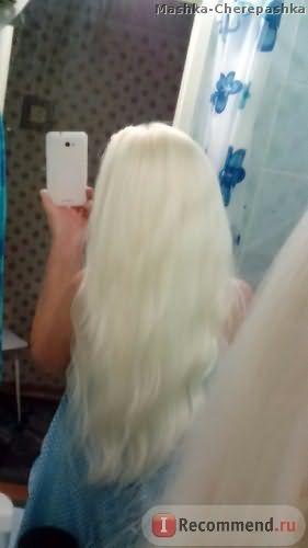 Состояние волос после окрашивания Е0