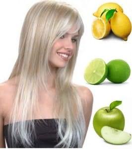 Добавление кислых фруктов в маски поможет осветлить пряди