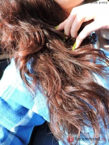 Парикмахерская услуга - шлифовка (полировка) волос фото