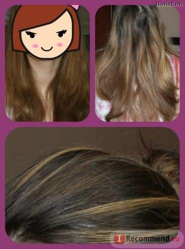 Мелирование волос видео корни
