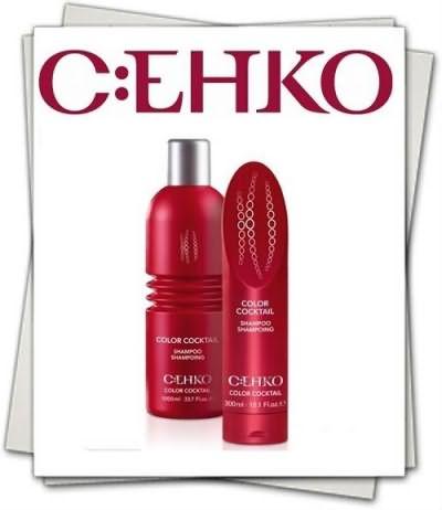 После обретения нового цвета позаботьтесь о наличии специального шампуня для окрашенных волос (C:EHKO Сolor cocktail shampoo цена от 500 руб.)