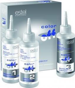 Estel Color Off – эмульсия для удаления краски