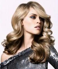 Красивая новогодняя укладка средних волос