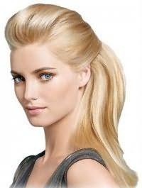 Новогодняя прическа для тонких волос
