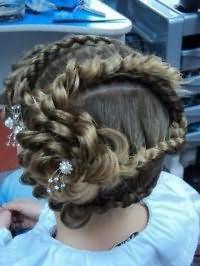 Стильная прическа с косами