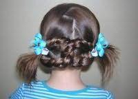 Прическа на длинные волосы на 1 сентября