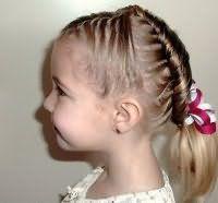 Прическа на короткие волосы на 1 сентября
