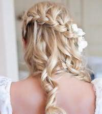 Французская коса для длинных волос.