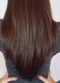 стрижка лисий хвост на длинные волосы 4