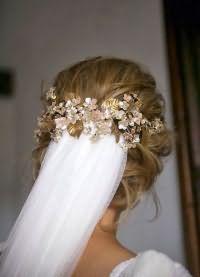 свадебные прически на длинные волосы с фатой2