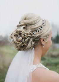 свадебные прически на длинные волосы с фатой5