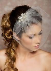 свадебные прически на длинные волосы с фатой9