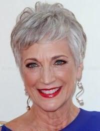Стрижка на короткие волосы для женщин после 60