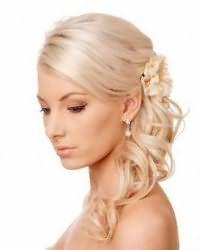 Прическа мальвинка для невесты с волосами средней длины.