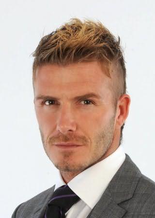 Мужская причёска с мелированием