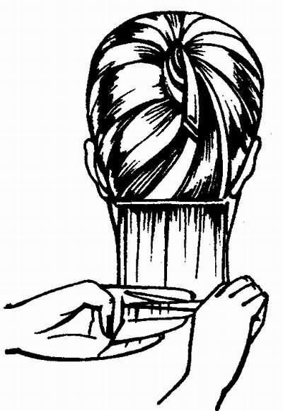 Мастер класс мужской стрижки градуированное каре