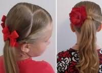 школьные прически для девочек на длинные волосы 6
