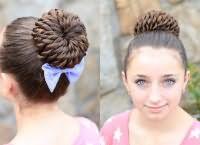 школьные прически для девочек на длинные волосы 8