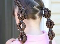 школьные прически для девочек на длинные волосы 2