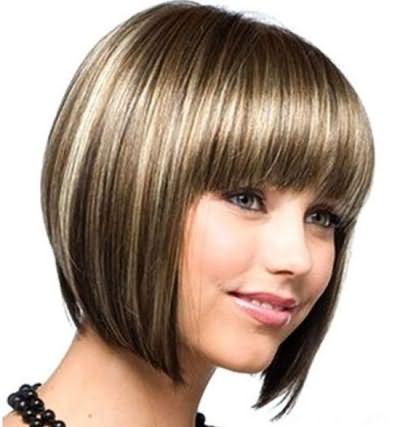 Пример стрижки для редких волос