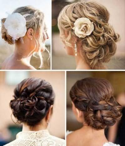 Свадебные и повседневные решения для оформления средних волос разнообразны и просты