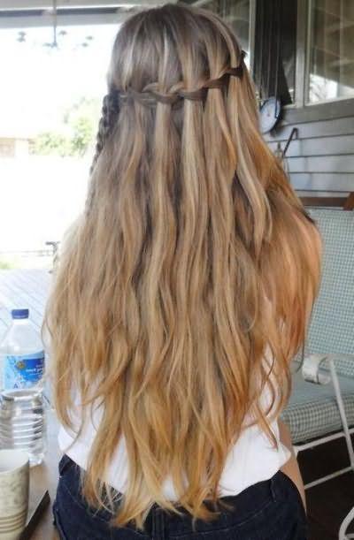 красивые прически с распущенными волосами