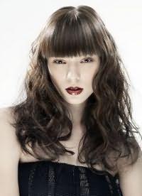 модная челка на длинные волосы 2016 3