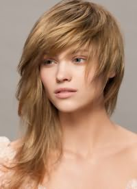 модная челка на длинные волосы 2016 6