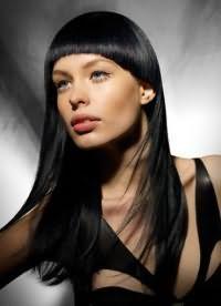 модная челка на длинные волосы 2016 7