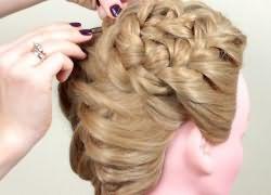 прически плетение кос 8