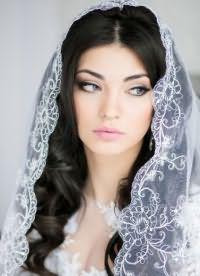 свадебные прически распущенные 5