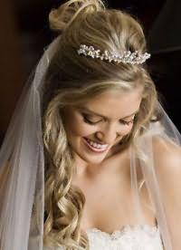 свадебные прически распущенные 7