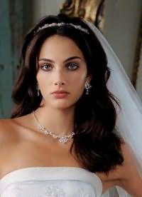 свадебные прически распущенные 8