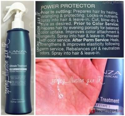 Кератиновое протезирование волос L'anza фото