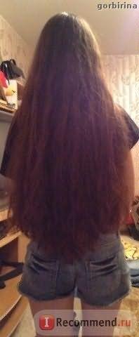 Расчесываю после мытья за несколько минут. На фото уже сухие волосы после мытья