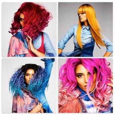 палитра красок для волос ревлон