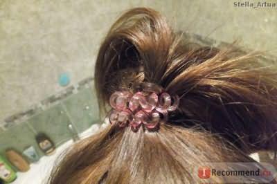 Резинка для волос Силиконовая фото