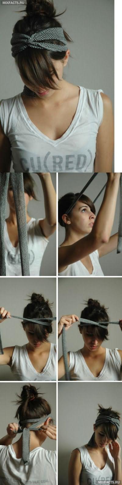 модные ободки для волос своими руками