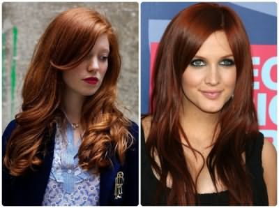 Золотисто рыжий цвет волос L'Oreal Feria Color 6.34 (цена – от 400 руб.)
